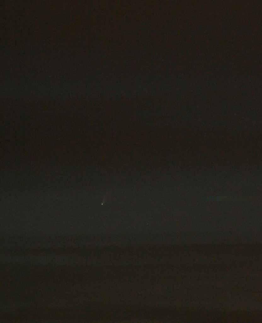 Komeet Bradfield door Jaap van 't Leven