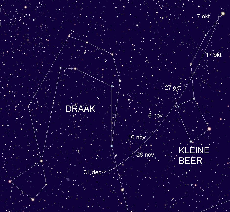 Kaart 2014 S2 Panstarrs 7 okt tm 31 dec 2015